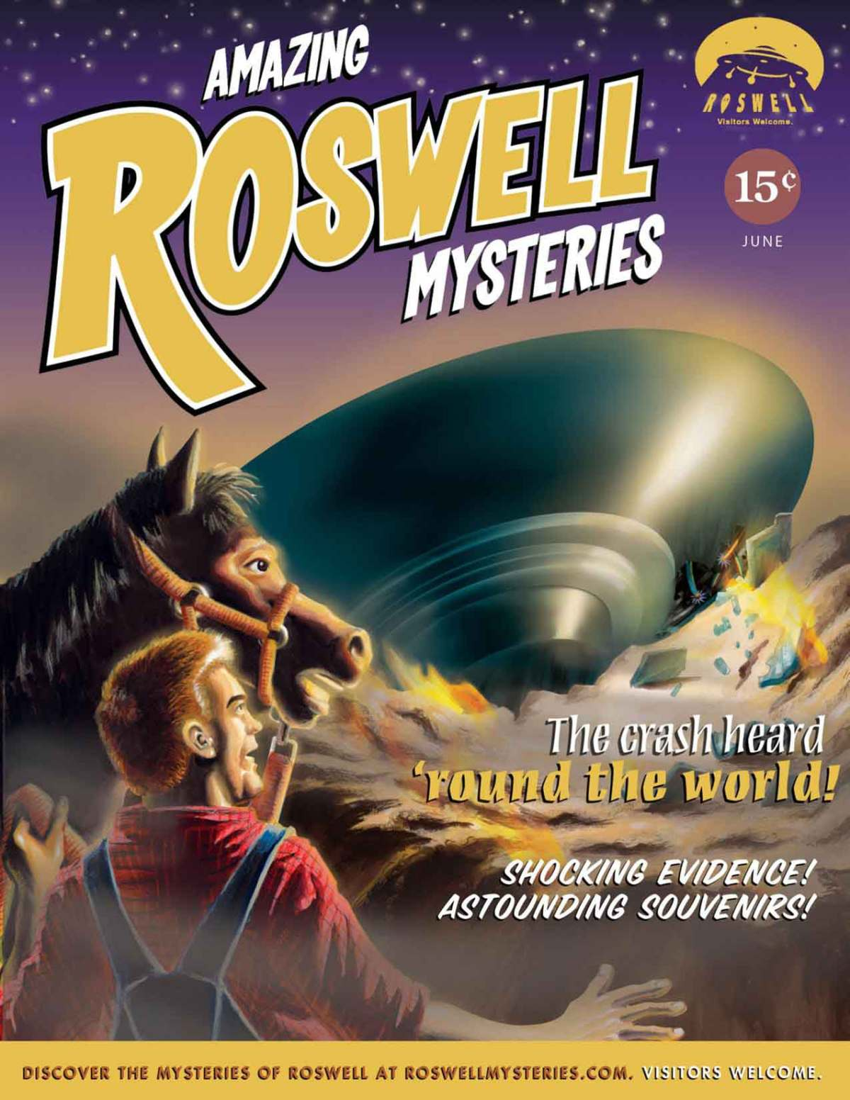 Amazing Roswell Mysteries: UFO!