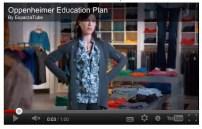 Final frame based on storyboards for Oppenheimer Educational Plan.