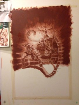 Underpainting 2