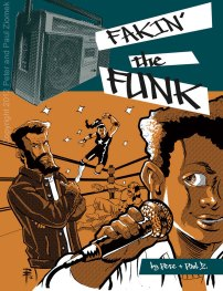 "Cover of the ""Fakin' the Funk"" graphic novel written and illustrated by Paul Ziomek with Peter Ziomek"