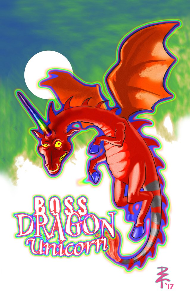 Boss Dragon Unicorn